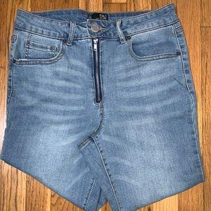 Fashion Nova High Rise Jeans